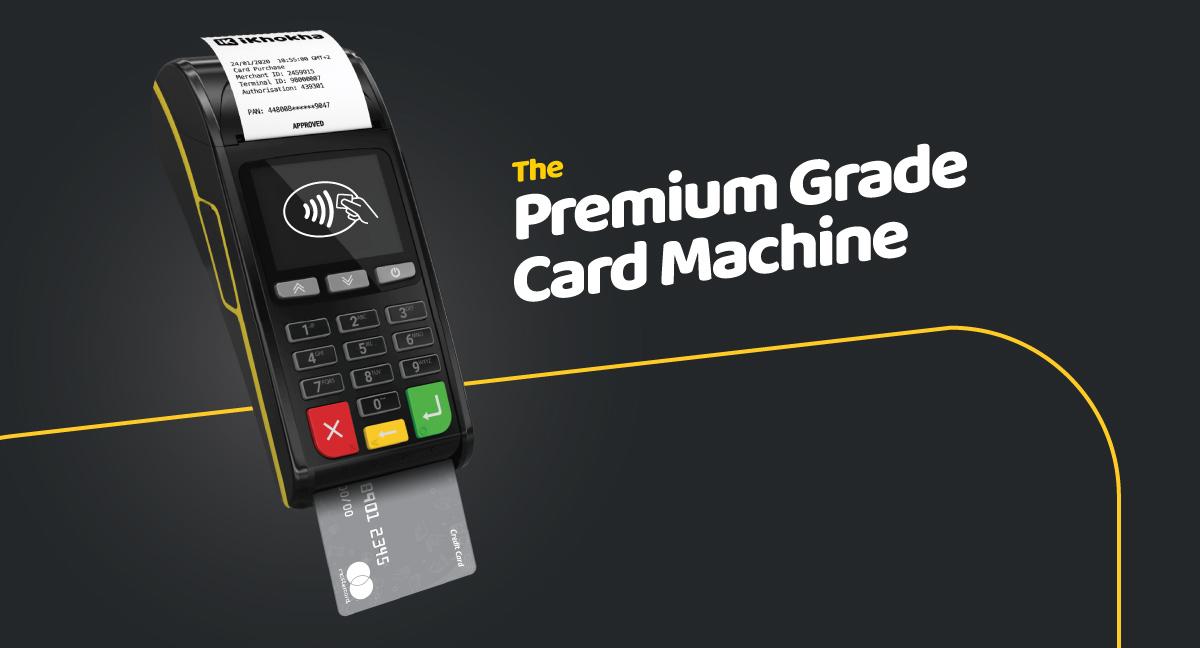 Shaker Solo card machine