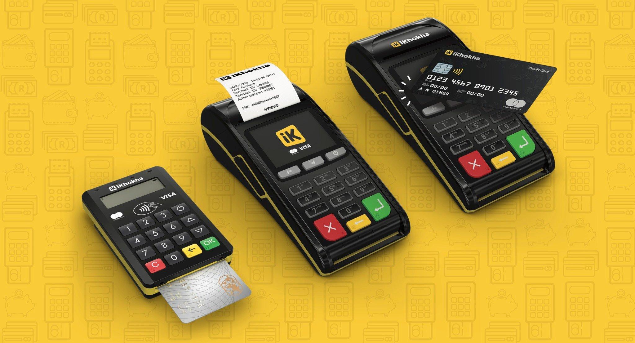 iKhokha card machine range