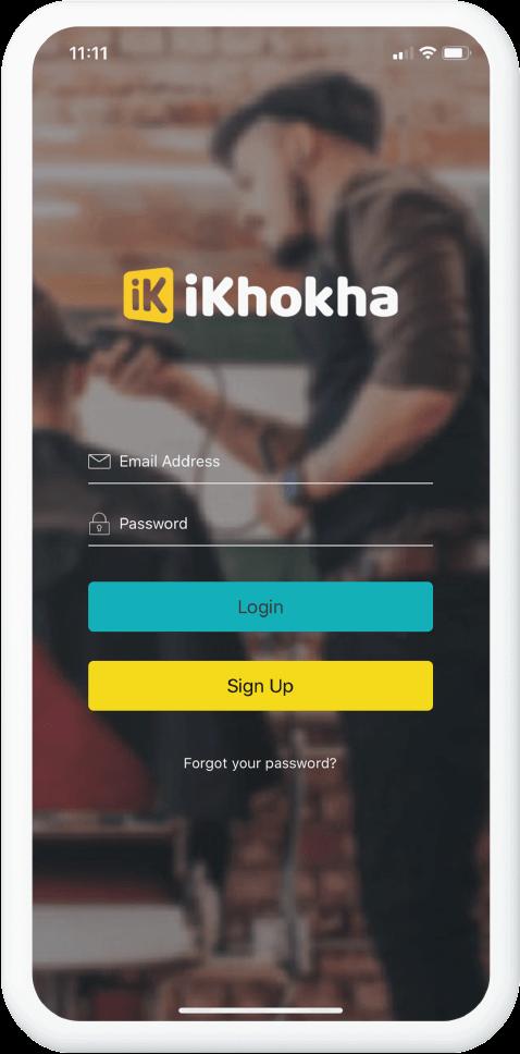 ikhokha app screen 1 img