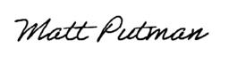 Matt Putman Signature