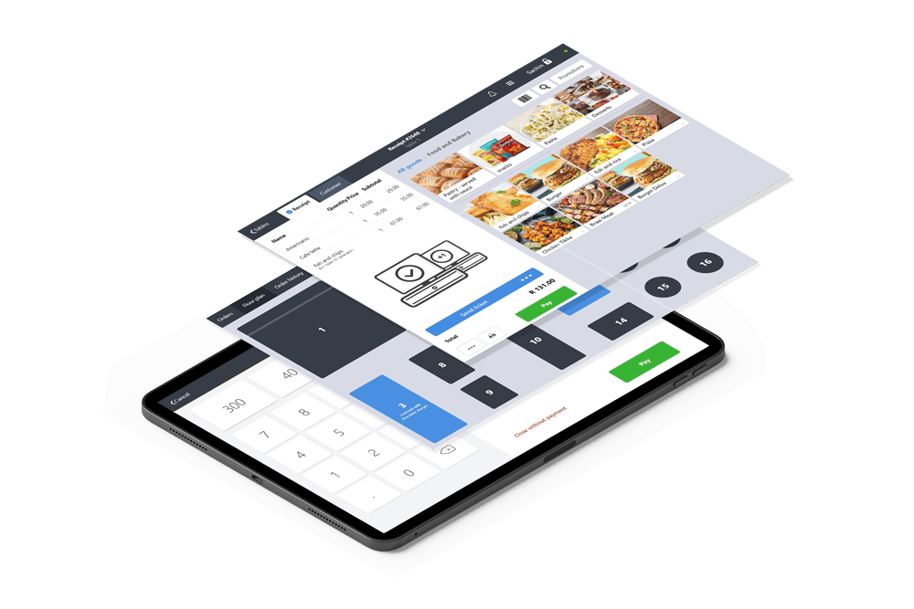 software mock up with enterprise icon