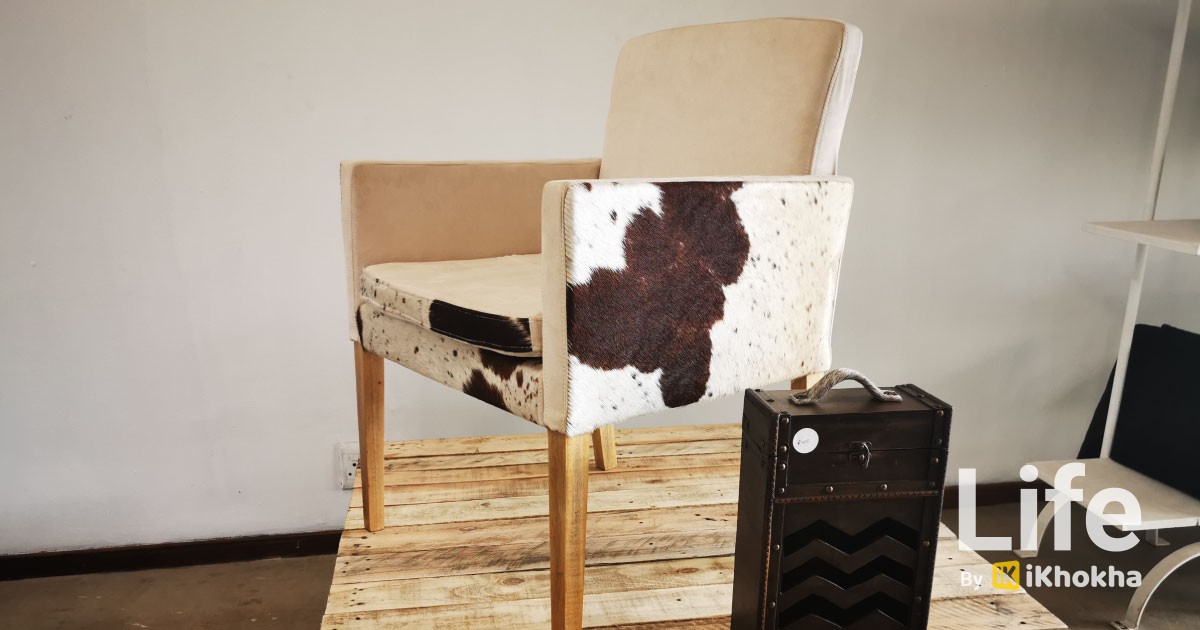 ikhokha royalty hides chair